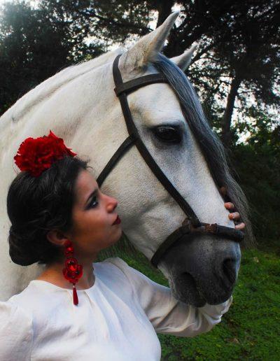 Modelo Rocío Flamenca